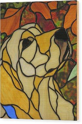 Sunshine Wood Print by Ladonna Idell