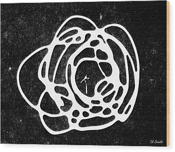 Super Nova Wood Print by Ed Smith
