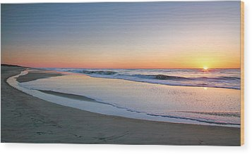 Surf And Sand II  Wood Print by Steven Ainsworth