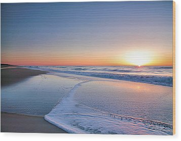 Surf And Sand IIi Wood Print by Steven Ainsworth