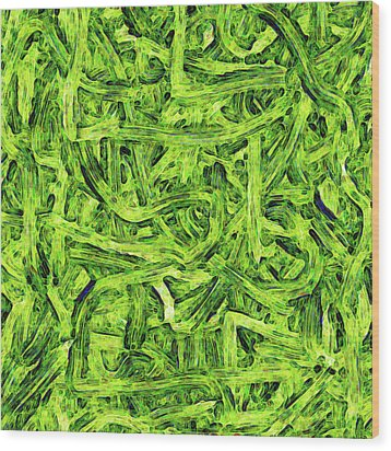 Surface -charlie- Wood Print