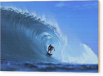 Wood Print featuring the photograph Surfer Boy by Movie Poster Prints