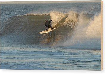 Surfing 80 Wood Print by Joyce StJames