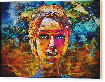 Wood Print featuring the photograph Surreal Dream - Chuck Staley by Chuck Staley
