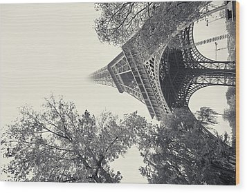 Surrealistic Tower Wood Print by Richard Goodrich