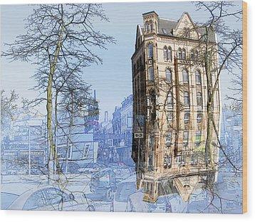Susi One Wood Print by Joerg Bernhard Klemmer