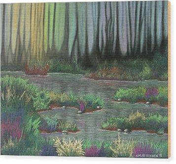 Swamp Things 01 Wood Print