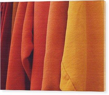 Sweatshirts Wood Print by Anna Villarreal Garbis