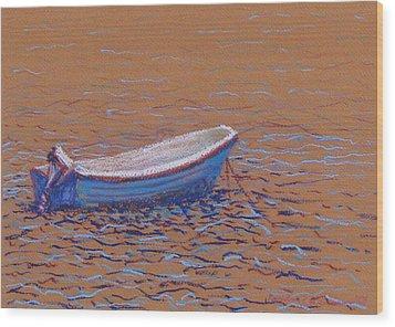 Swedish Boat Wood Print
