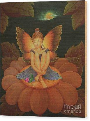 Sweet Dream Wood Print by Desiree Micaela