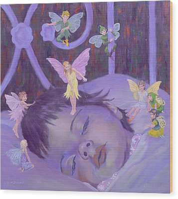 Sweet Dreams Wood Print by William Ireland