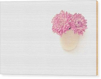 Sweet Harmony Wood Print by Evelina Kremsdorf