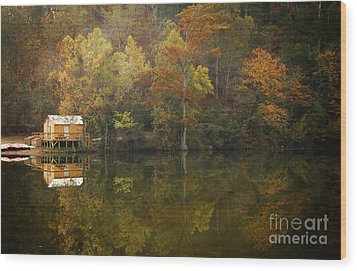 Wood Print featuring the photograph Sweet Home by Iris Greenwell