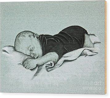 Sweet Innocence Wood Print