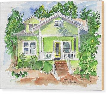 Sweet Lemon Inn Wood Print