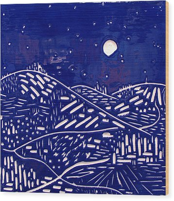 Sweet Night Wood Print by Jason Messinger