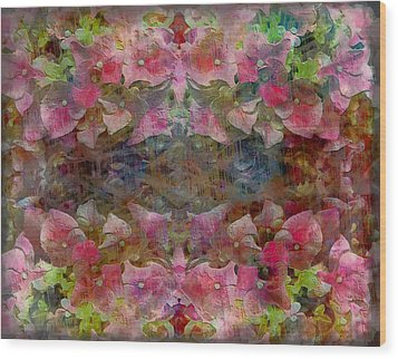 Sweet Pink Dreams Wood Print by Dorothy Berry-Lound