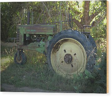 Wood Print featuring the photograph Sweet Retirement by Tammy Sutherland