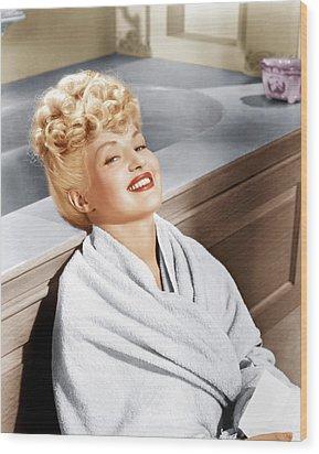 Sweet Rosie Ogrady, Betty Grable, 1943 Wood Print by Everett