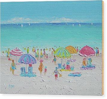 Sweet Sweet Summer Wood Print by Jan Matson