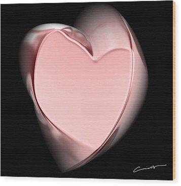 Sweet Twisted Love Wood Print