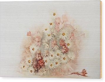 Sweetness Wood Print by Fatima Stamato