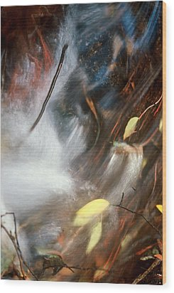 Swept Away Wood Print by Lynard Stroud