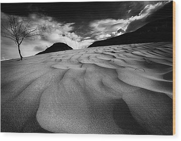 Wood Print featuring the photograph Swerves And Curves In Jasper by Dan Jurak