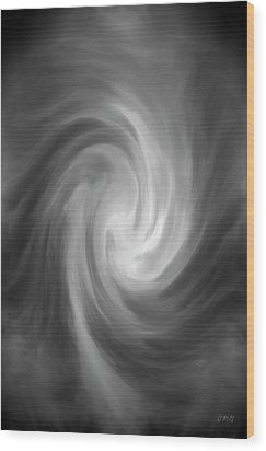 Swirl Wave Iv Wood Print by David Gordon