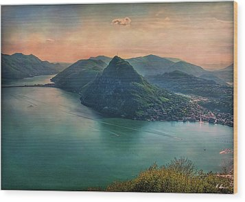 Wood Print featuring the photograph Swiss Rio by Hanny Heim