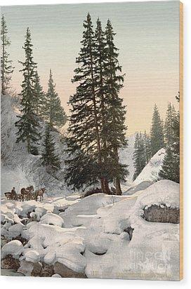 Switzerland: Davos, C1895 Wood Print by Granger