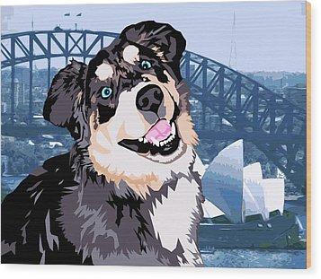 Sydney Wood Print