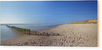 Sylt Beach Wood Print by Marc Huebner