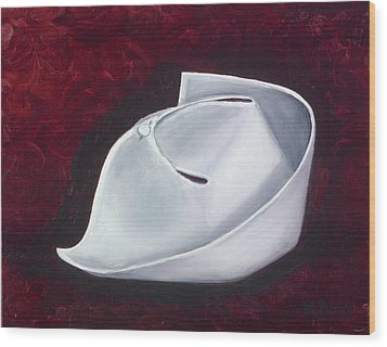 Wood Print featuring the painting Symbol Of A Proud Profession  by Marlyn Boyd