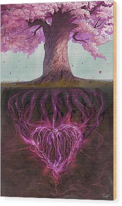 Symbolism Of Marriage Wood Print