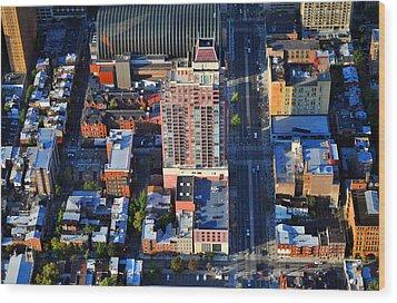 Symphony House Condo 440 South Broad Street Philadelphia Pa 19146 4901 Wood Print by Duncan Pearson