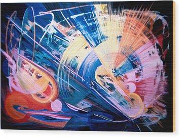 Symphony Of Color Wood Print