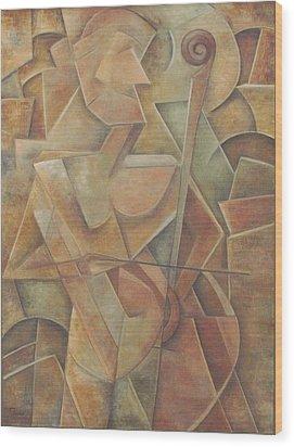 Tacit Wood Print
