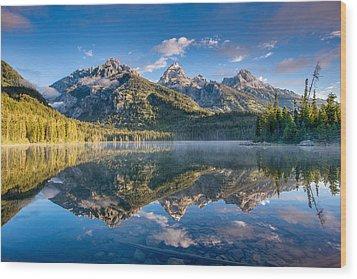 Taggart Lake Wood Print