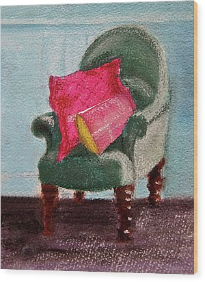 Wood Print featuring the painting Take A Rest by Linde Townsend