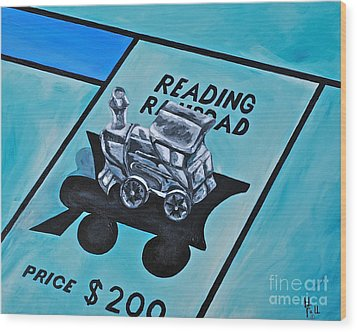 Take A Ride On The Reading  Wood Print by Herschel Fall