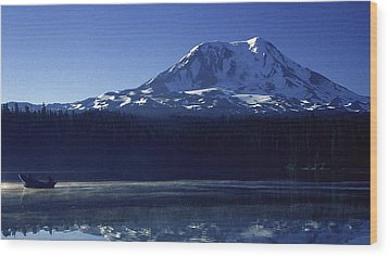 Takhlakh Lake Wood Print