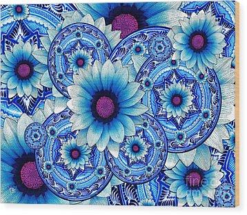 Talavera Alejandra Wood Print