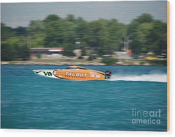 Talbot Offshore Racing Wood Print