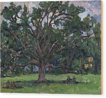 Tanglewood Tree Wood Print by Thor Wickstrom