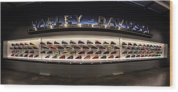 Tank Wall Wood Print by Randy Scherkenbach