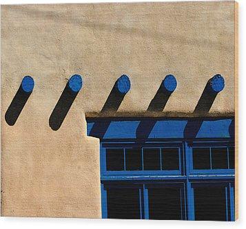Taos Afternoon Wood Print