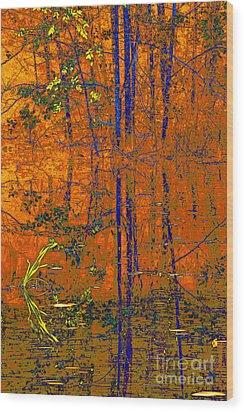 Tapestry Wood Print by Steve Warnstaff