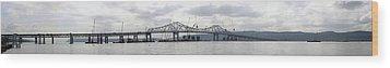 Tappan Zee Bridge From Tarrytown Wood Print