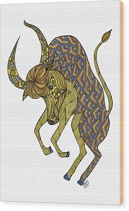 Taurus Wood Print